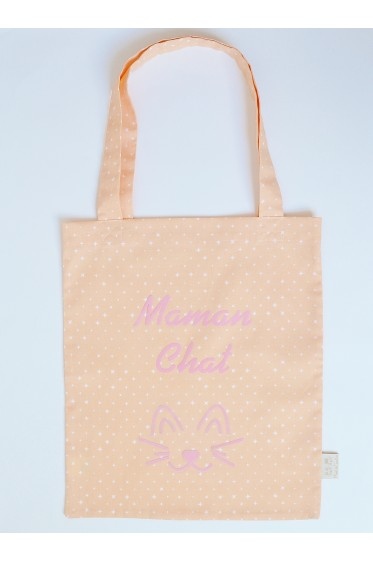 "Tote bag - ""Maman Chat"""