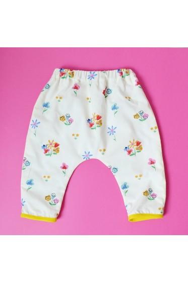 """Pantalon - Motif """"Jolies Fleurs"""""""