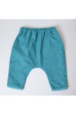 "Pantalon - Coloris ""Pagoda Blue"""