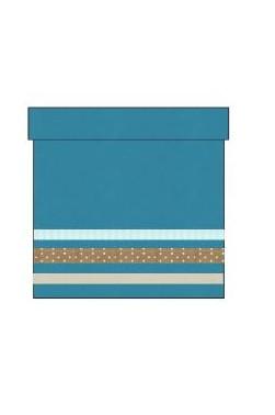 """Panière PM - Coloris """"Pagoda Blue"""""""
