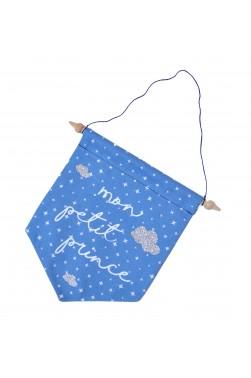 Fanion Mon Petit Prince - Bleu Alpin