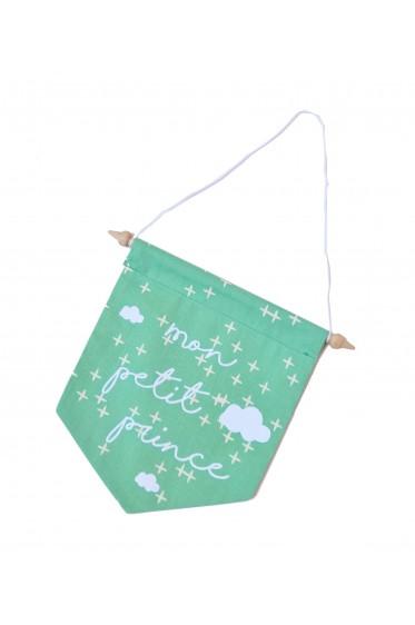 Fanion Mon Petit Prince - Vert Menthe