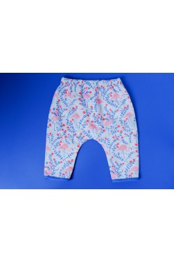 "Pantalon - Motif ""Flamingo"""