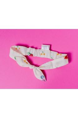 """Bandeau pour les cheveux enfant - imprimé """"Flamingo"""""""