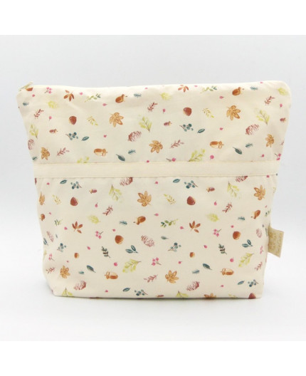 "copy of Trousse de toilette - Grand modèle - Motif ""Flores"""